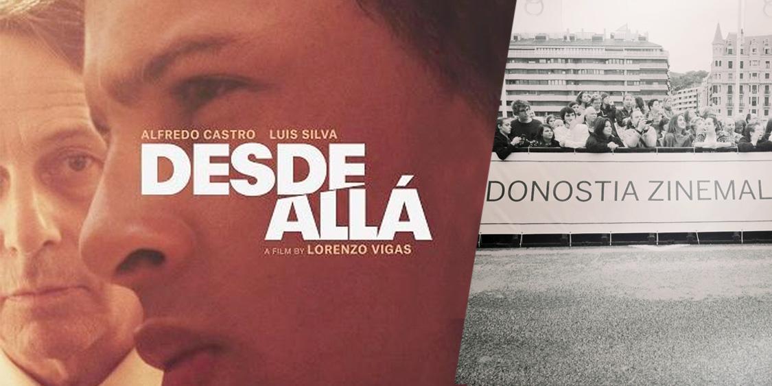 cartel de cine Desde allá. Donostia zinemaldia