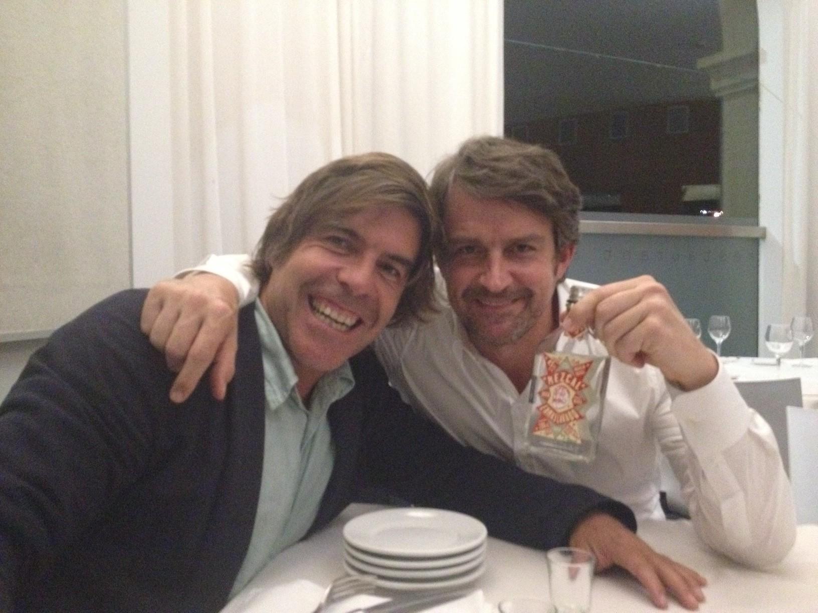 Óscar Nuño y Lorenzo VIgas. ONEASY